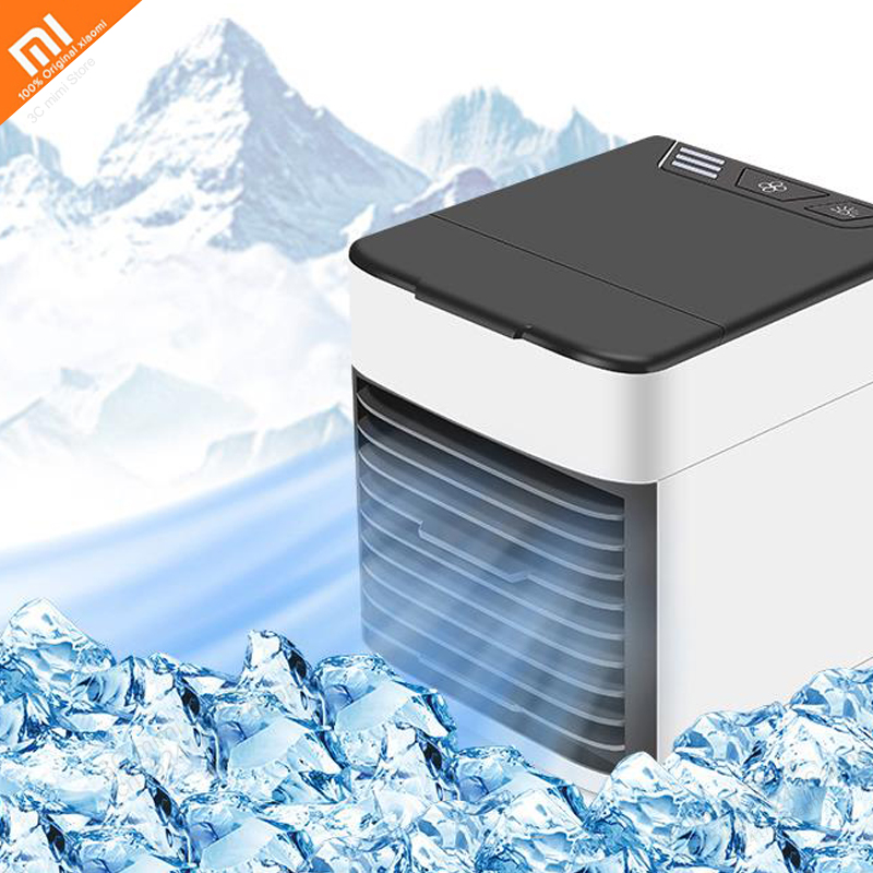 Xiaomi Mijia Desktop Fan Air Cooler Home Water Cooled Air Conditioning Fan With Filter Cotton Three Speed
