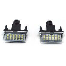 2 pz SMD LED Luce Della Targa Xeno Per Toyota CAMRY 2012-2015 Auto Auto di Illuminazione Interna-styling