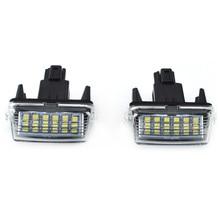 2 светодио дный шт. SMD LED номерной знак света ксенон для Toyota CAMRY 2012-2015 автомобиля внутреннее освещение автомобиля-Стайлинг