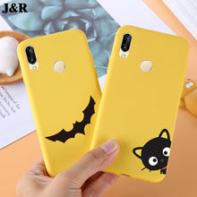 P20 Case For Huawei P20 Lite Silicone Cartoon Animal Painted Back Cover for Huawei P20 Pro Case Soft TPU Phone Bags Protective(China)