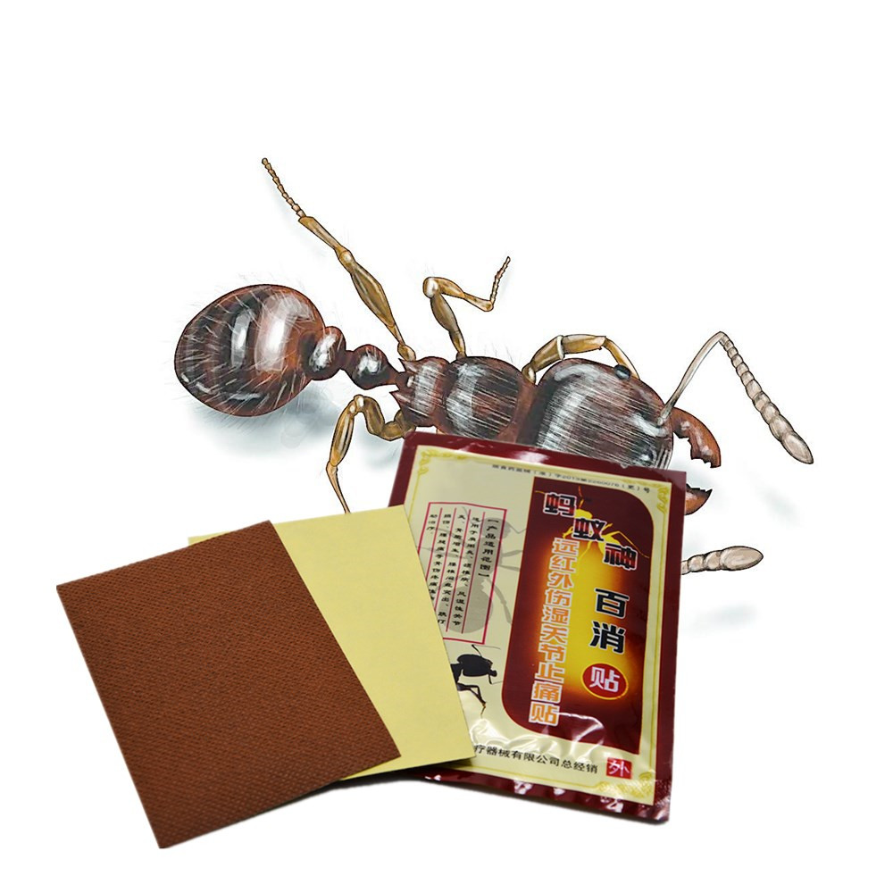 100% Chinese Medicine Disaar 8pcs/bag Black Ant Essential Muscle Rthritis Neck Body Massage oil