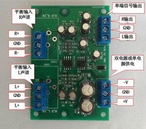 Image 4 - DYKB Stereo XLR dengeli ses girişi dönüşümü RCA ses çıkışı