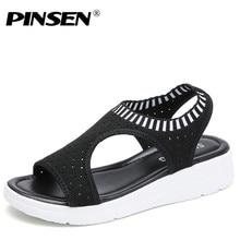 Women Sandals Woman Summer Comfortable Sandals Ladies Slip-on Flat Sandals Women