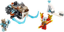 Figures Building Blocks Sets china brand Chima Strainor's Saber Cycle  compatible with Lego (70220)