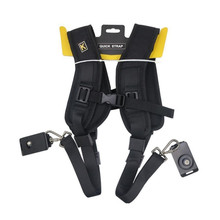 High Quality Professional Camera Strap Double shoulder strap 2 digital SLR camera dslr photography accessories shoulder harness