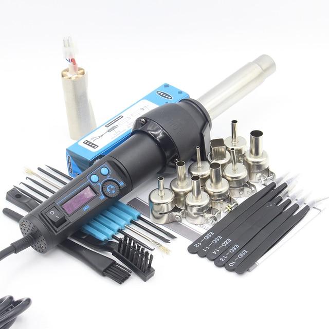 RIESBA 8858LCD 220V /110V EU/US 650W LCD Adjustable Electronic Heat Hot