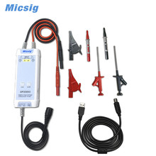 Micsig DP20003 kit Oscilloscope High Voltage Differential Probe 5600V 100MHz 3.5ns Rise Time 200X / 2000X Attenuation Rate micsig dp20003 kit oscilloscope high voltage differential probe 5600v 100mhz 3 5ns rise time 200x 2000x attenuation rate