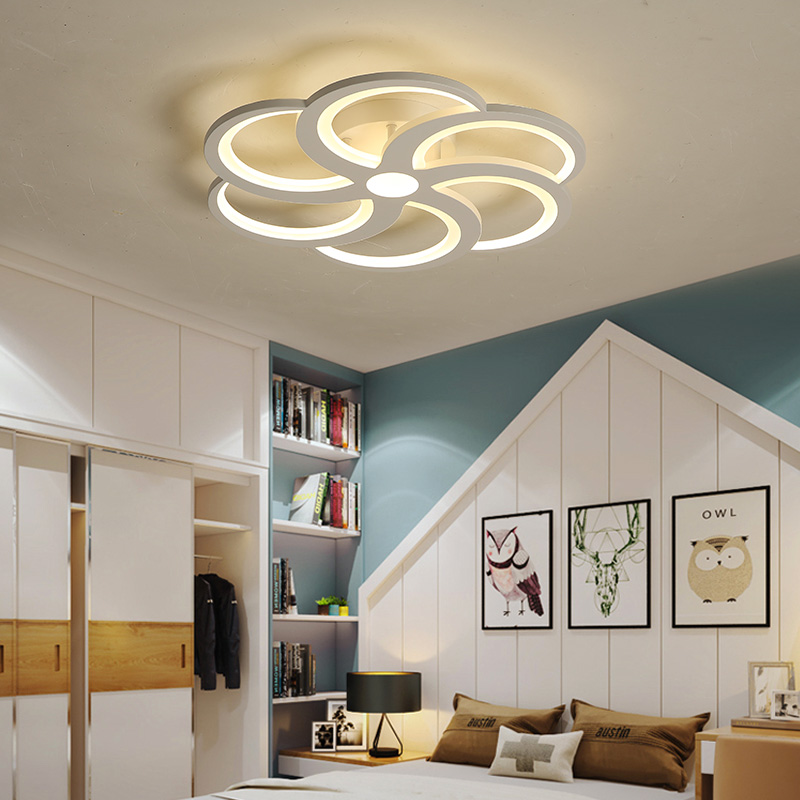 Nordic Ceiling lights Novelty post-modern living room Fixtures bedroom aisle LED ceiling lamp Ceiling lighting modern led ceiling lights nordic living room fixtures novelty crystal bedroom ceiling lamps iron glass ceiling lighting