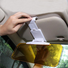 Hot Car Sun Visor Sunscreen HD Night Vision Goggles Day And Sunshade Driving Mirror UV Fold Flip Down Auto Accessories
