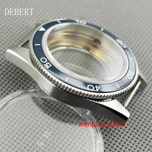 Image 2 - DEBERT coque de montre daffaires à lunette en céramique 41mm, compatible avec Miyota 8205/8215,ETA 2836 DG2813/3804, mouvement mécanique automatique