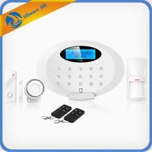 Home GSM SMS Alarm System (433/315/900/1800/850/1900MHZ) Home Security Alarm System Hot New Alarm Mainframe Kits CCTV