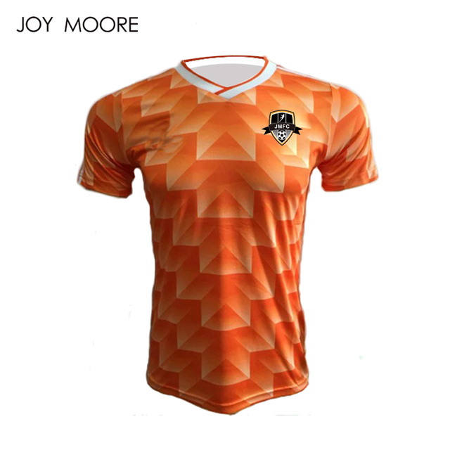 f44bc6a31 High quality sublimation comfortable Retro soccer jersey popular design for  men