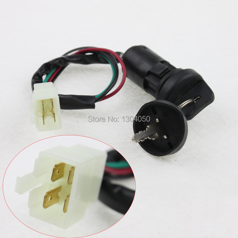 popular 110 atv wiring buy cheap 110 atv wiring lots from new key ignition switch 4 wire 50 70 90 110 125 135cc atv quad go