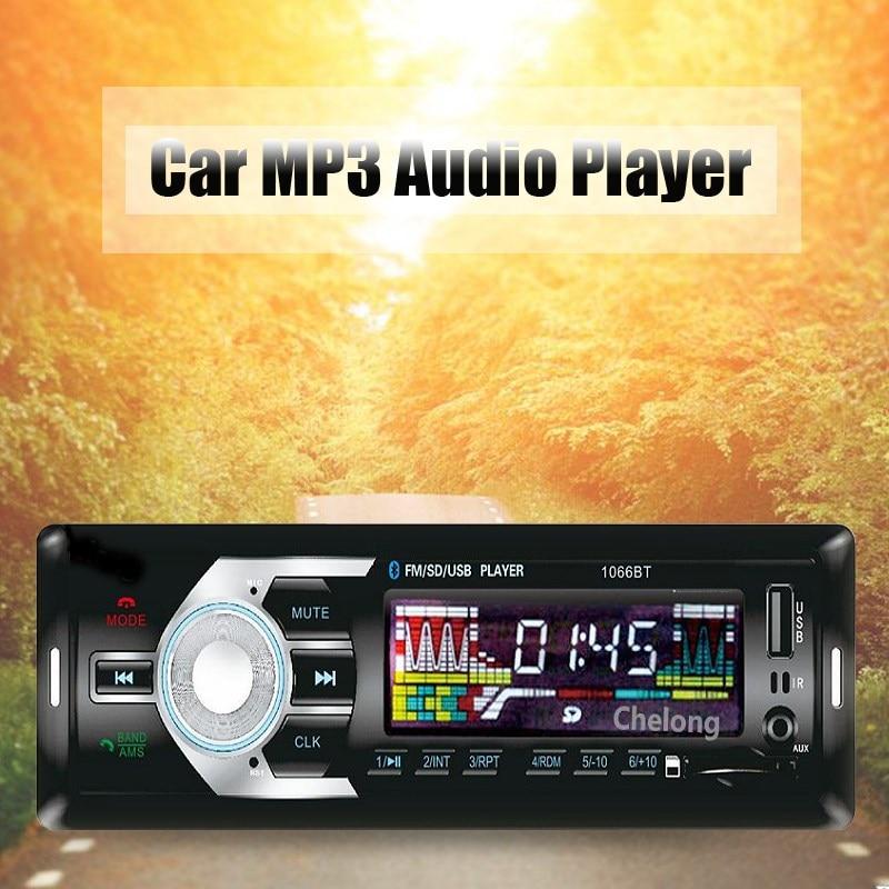 12V font b Car b font Stereo FM Radio Bluetooth MP3 font b Audio b font