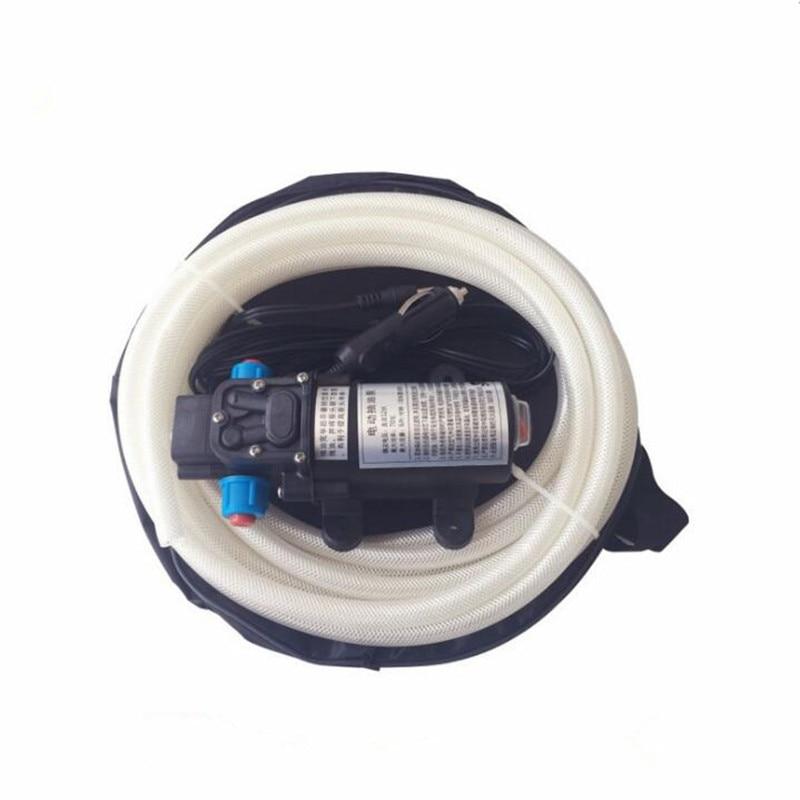 DC 12 v 70 w auto amorçante huile d'aspiration pompe électrique de transfert de carburant pompe à essence huile diesel pompe à huile