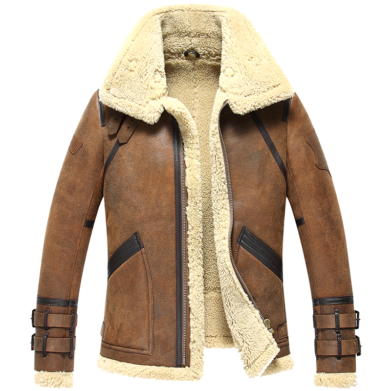 Popular Lamb Fur Coat Mens-Buy Cheap Lamb Fur Coat Mens lots from ...