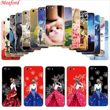 Fundas For OPPO A83 Case Slim Fashion Painted Soft TPU Back for A 83 5.7 inch Silicone Phone A83T A83M Cover