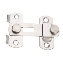 Mayitr 1set Guard Latch Bolt and 4 Screws Sliding Door Lock Handle Stainless Steel Door Latch Home Safety Chain Door Accessories(China)