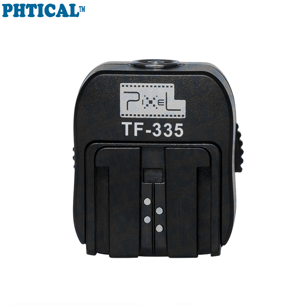 PHTICAL Flash Accessories Pixel TF-335 Hot Shoe Adapter For Sony Mi Convert to Sony Hot Shoe Speedlite and Support TTL Flash