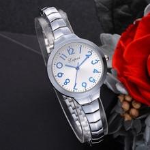 Lvpai Women's Watch Bracelet Stainless Steel Band Digital dial Quartz Wrist Watch moda mujer luxury Clock Analog reloj mujerB30