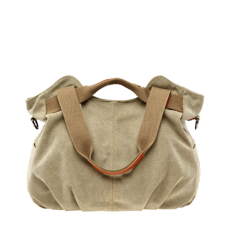 Russian Hot Women Canvas Bag Female Casual Bag Women Handbag Retro Women Messeng