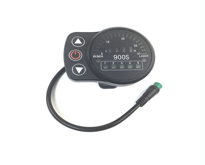 Electric Vehicle Parts Led900s Control Panel Led Display Electric Bicycle Bike Parts For Kt Controller To Win Warm Praise From Customers Ebike 24v 36v 48v Intelligent Black Kt Back To Search Resultsautomobiles & Motorcycles