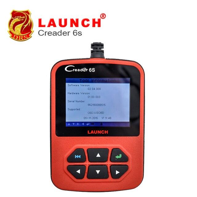 2016 Newest OBD2 Auto Scanner Original Launch X431 Creader VI Plus Code Reader Update Online Launch Creader 6S AU/US version