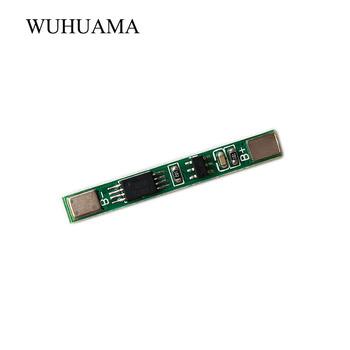 2 sztuk 3 7 V 3A akumulator litowo-jonowy PCM BMS 18650 baterii płyta ochronna PCB dla 18650 akumulator litowo jonowy li baterii MOS 8505A DW01 tanie i dobre opinie 3A PCM Odtwarzacze MP3 Akcesoria Zestawy Ładowarka WUHUAMA Inne