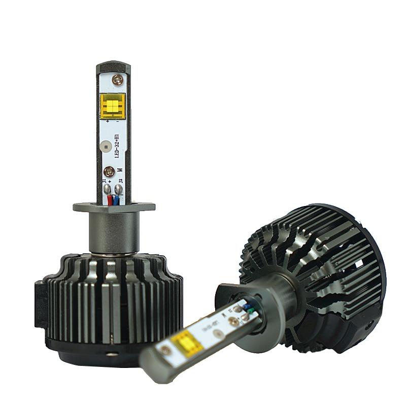 JGAUT H4 LED светлина за кола H1 H3 H7 H11 880 9005 - Автомобилни светлини - Снимка 2