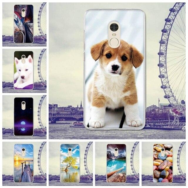 For Coque Xiaomi redmi Note 4 Case Cover 5.5 Dog Cartoon Rubber TPU Silicone Case For Xiaomi redmi Note 4 Note 4 Case