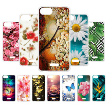 3D DIY Soft Silicone Case For Wiko Tommy 3 Coque Tommy3 Cover Flamingo Painted Cases Back Fundas