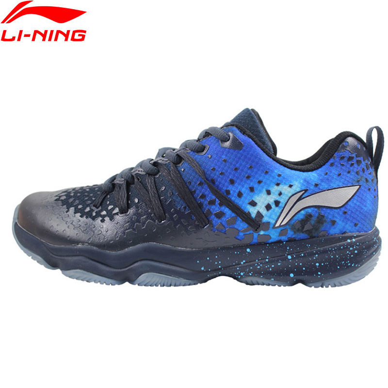 Li-Ning Men NEBULA Badminton Shoes Wearable Anti-Slippery LiNing Fitness Sport Shoes Sneakers AYTN035 XYY091 li ning professional badminton shoe for women cushion breathable anti slippery lining shock absorption athletic sneakers ayal024