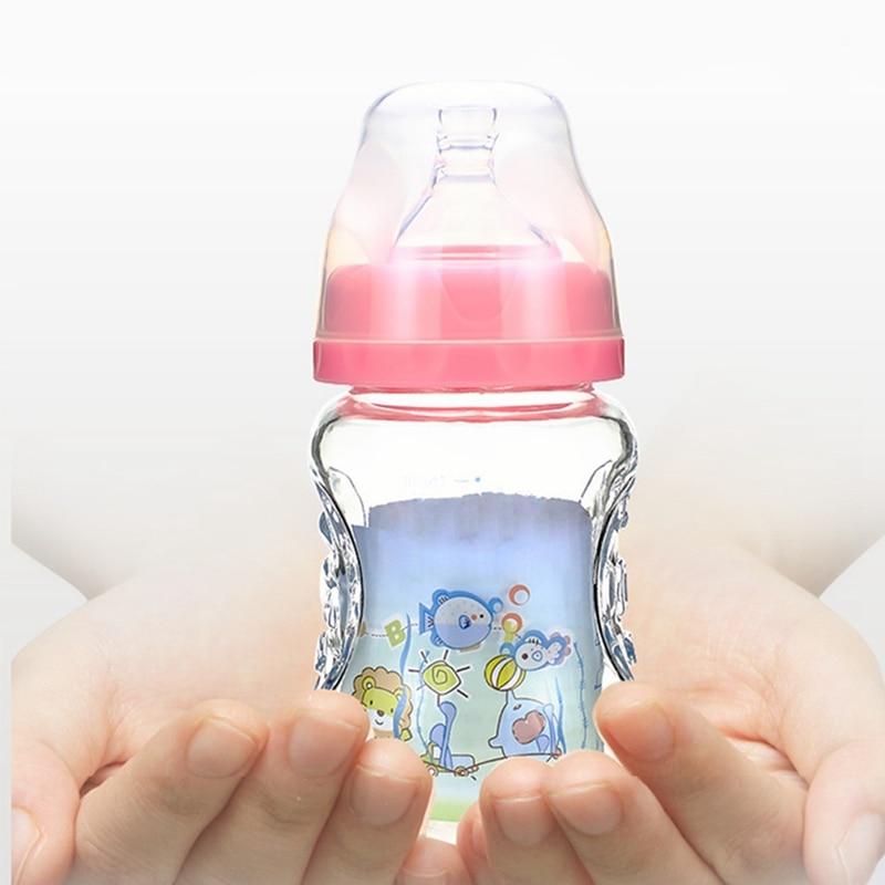 Leren Bank Verven Prijs.Kopen Goedkoop 150 Ml Baby Fles Kids Kinderen Leren Zuigfles