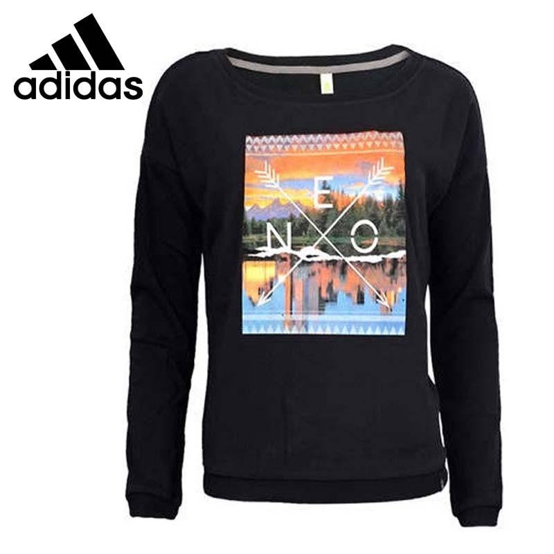 Original  Adidas NEO Label Women's Printed  Pullover Jerseys Sportswear цена и фото