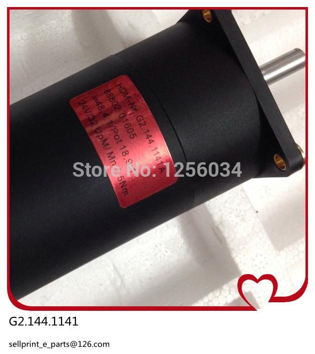 1 piece high quality electric drive motor printing G2.144.1141A, heidelberg printing machine motor high quality cell phone case digital printing machine uv led printing machine