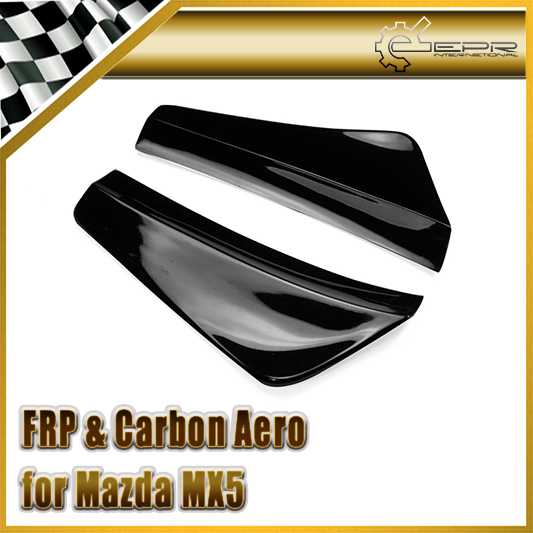 Car-styling For Mazda MX5 Miata NB Style FRP Fiber Glass Rear Bumper Spat Canard