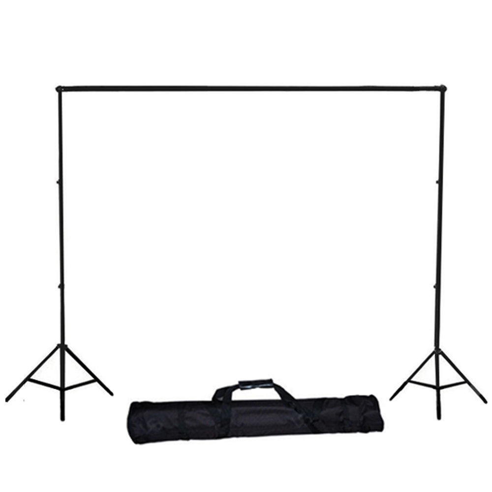 PRO Photography Photo Studio Background Backdrop Support Stand Collapsible Boom Bar Background Support with Carrying Bag kit ashanks 8 5ft 10ft background stand pro photography video photo backdrop support system for fotografia studio with carrying bag