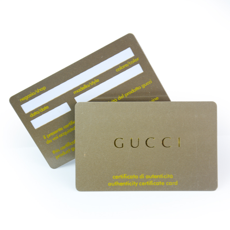 Usine Vente Directe Impression Mtallique Argent Estampage Chaud En Plastique Pvc Carte Vip Dans Cartes