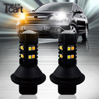 Tcart T20 WY21W Led drl Lights Turn Signals lights for cars for Toyota Prius 2006 2007 2008 2009 2010