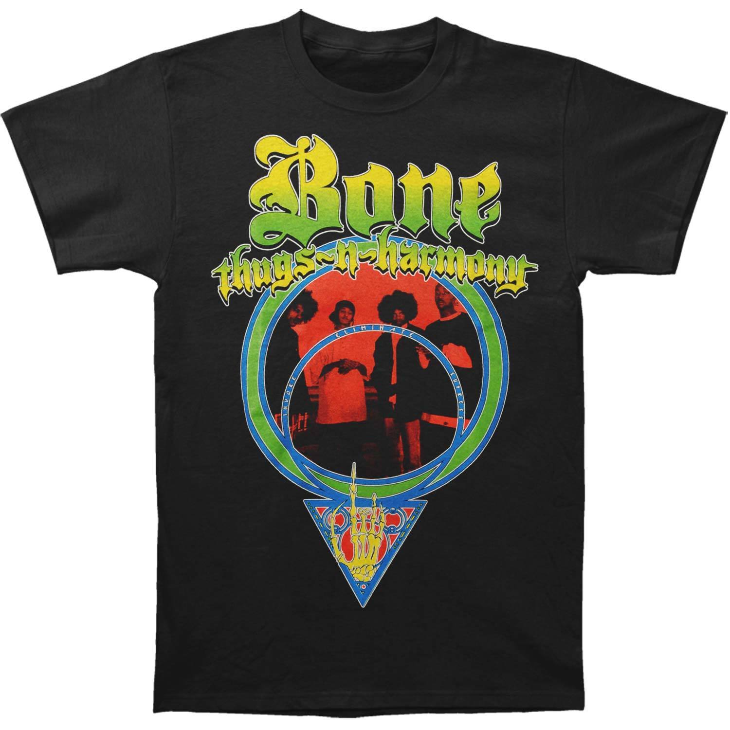Bone Thugs N Harmony MenS I E S T Shirt X Large Black ...