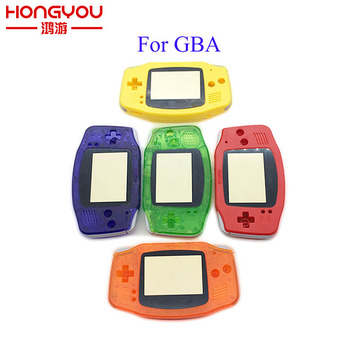 12Pcs  For GBA Housing housing Case Replacement Case Plastic Shell Cover for Nintendo for GBA for Gameboy Advance Console
