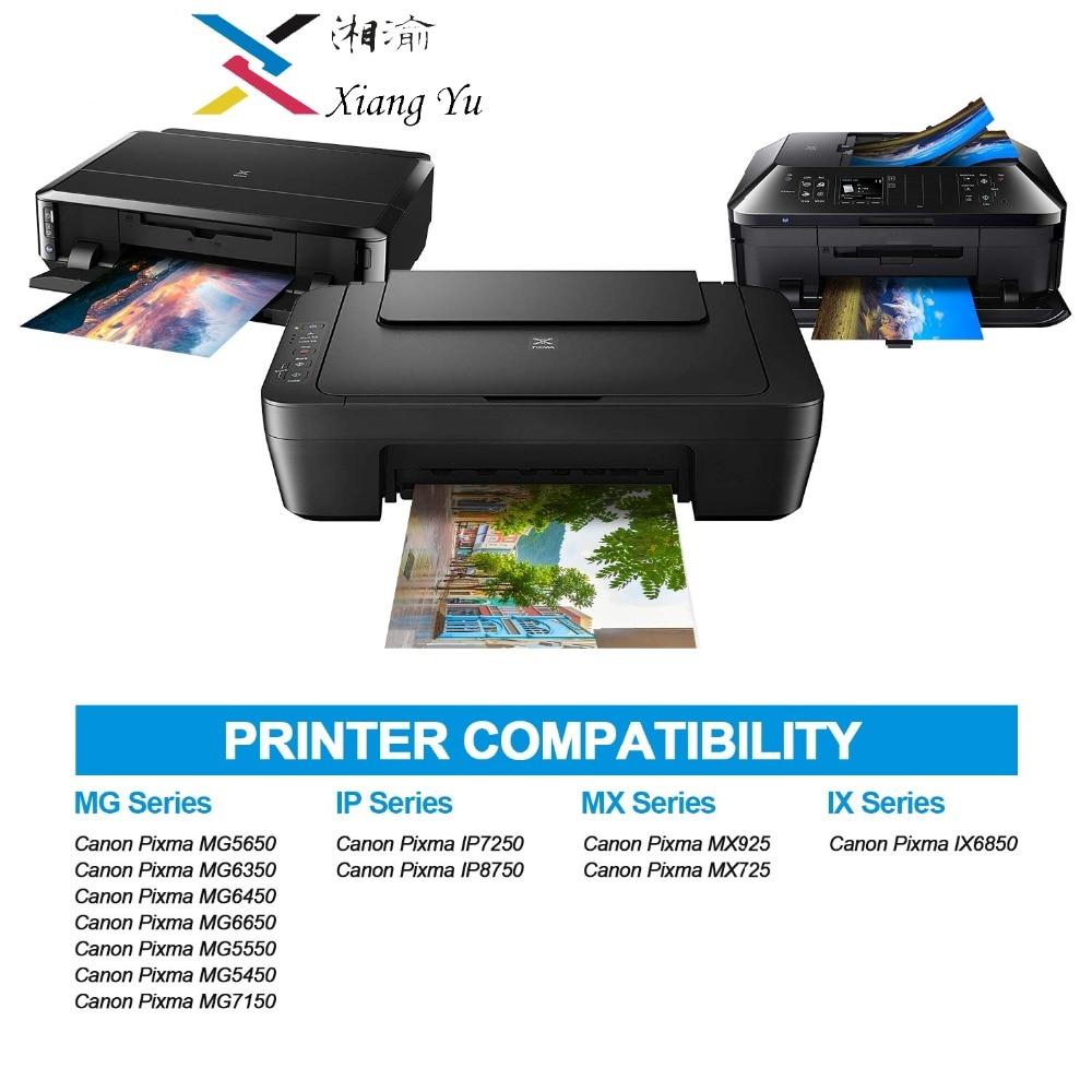 20 (шт) PGI-550 CLI-551 XL совместимый чернильный картридж pgi550 pgi 550 cli551 для Canon PIXMA IP7250 MX925 MG5450 5550 6450 5650