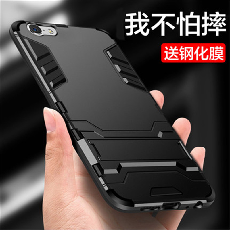 For <font><b>OPPO</b></font> A79 A83 F5 <font><b>F7</b></font> F9 F11 Pro <font><b>Case</b></font> Armor Silicone Soft TPU Shockproof Stand Cover For A59 A39 A57 A73 A33 A37 A77 A71 Coque image