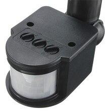 Motion Sensor 220V 12V Wall Light Lamp LED PIR Infrared Motion