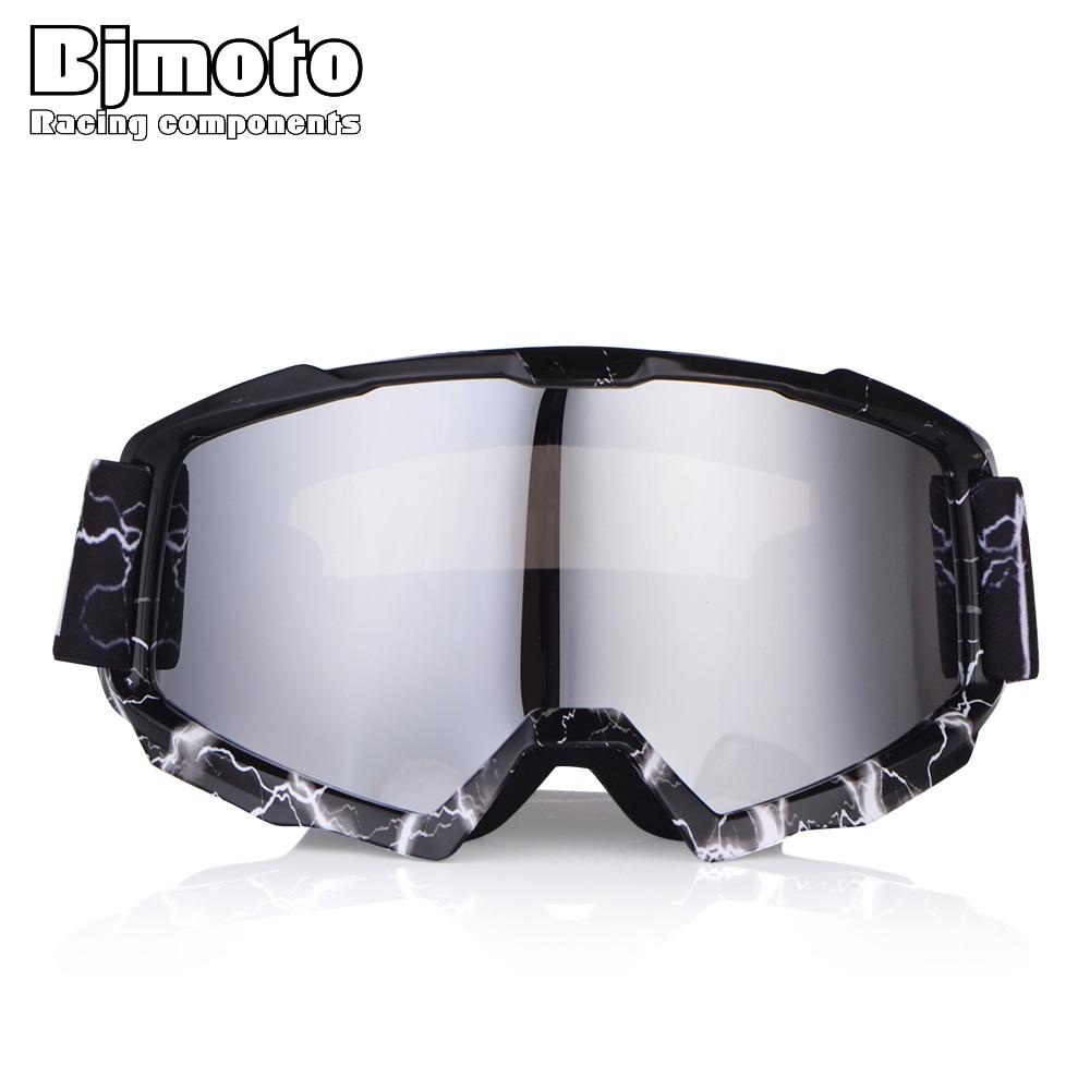 BJMOTO 2018 мотокросс очки с двойными линзами УФ-Защита Анти-туман Óculos Велоспорт Байк Off Road шлем лыжи gafas