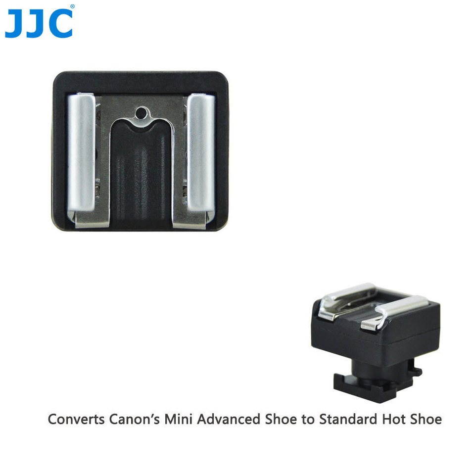 Standard Hot Shoe Adapter Converter,Portable Mini Heavy Duty,for Sony Multi Interface DV Camcorder to Standard Cold Shoe Support LED Light//Microphone//Monitor