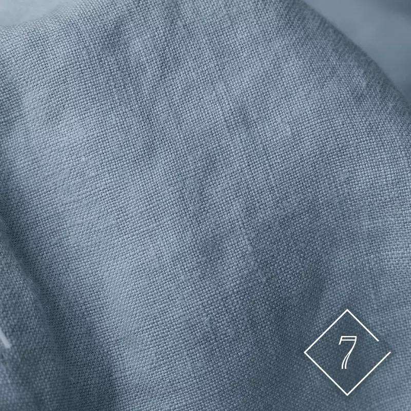 HD1052 100% Linen Fabric 145 cm Stone mill Sand Washed Linen Fabric for Pants Jack Ivory Gray Blue Black 1 m for sample test