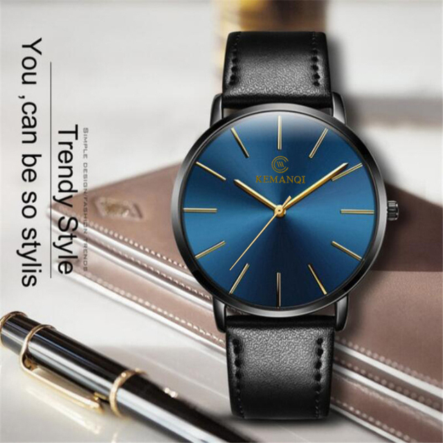 Relogio Masculino Mens Watches Top Brand Luxury Ultra-thin Wrist Watch Men Watch Men's Watch Clock erkek kol saati reloj hombre 3