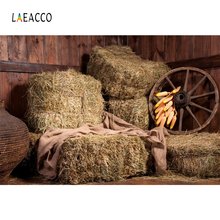 Laeacco Farm Warehouse Interior Haystack Scene Baby Child Photography Backgrounds Custom Photographic Backdrops For Photo Studio