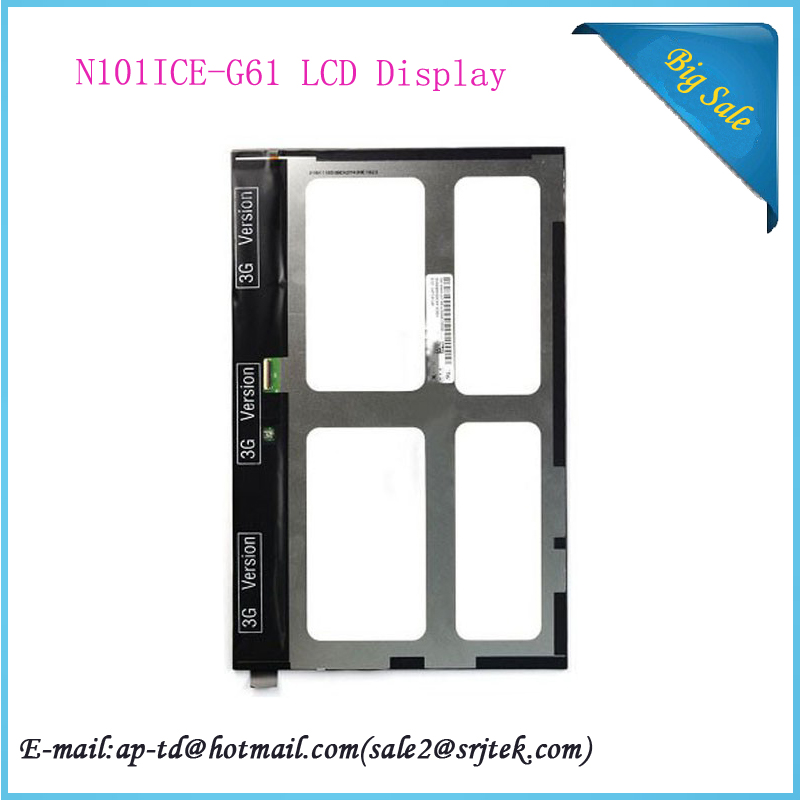 Original 10.1 inch LCD Display Screen N101ICE-G61 N101ICE For Lenovo Yoga 10 B8000 Tablet PC Monitor+Tracking Number
